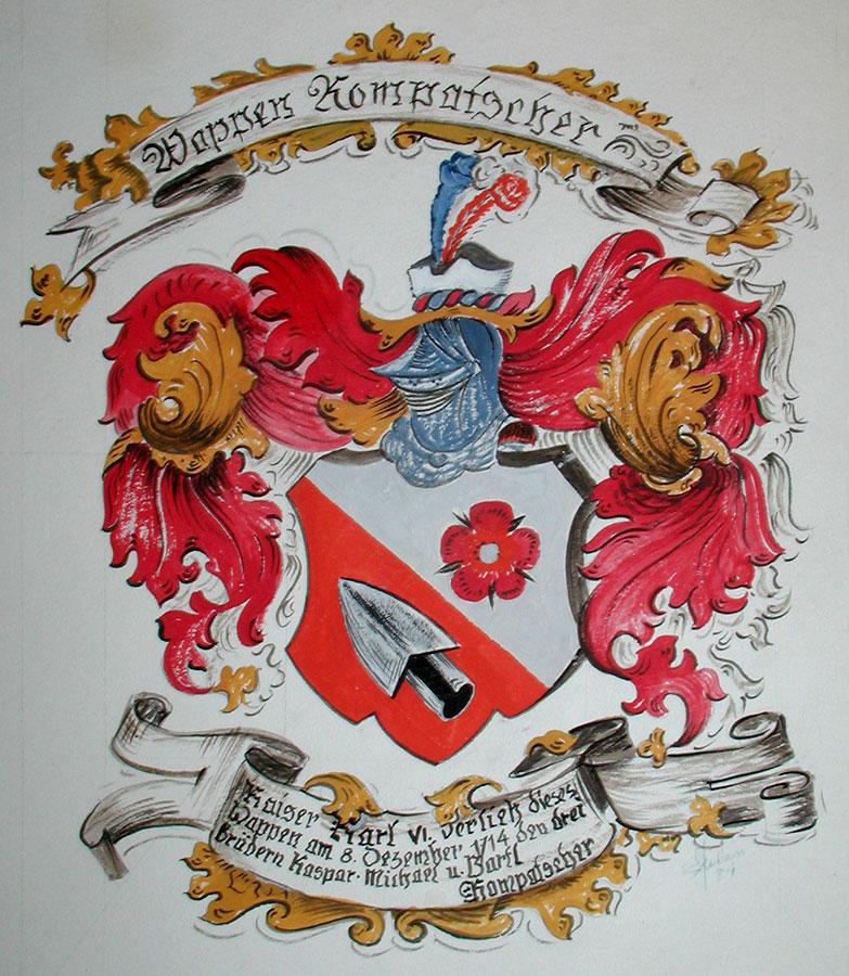 Wappenmalerei in Südtirol