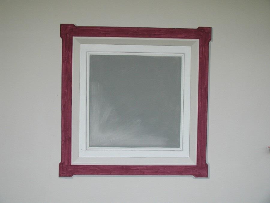 gemaltes Fenster